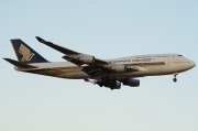 9V-SPJ, Boeing 747-400, Singapore Airlines