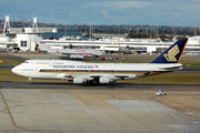 9V-SPO, Boeing 747-400, Singapore Airlines