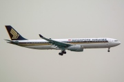 9V-STV, Airbus A330-300, Singapore Airlines