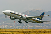 9V-SVG, Boeing 777-200ER, Singapore Airlines