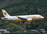 A5-BAB, Airbus A319-100, Bhutan Airlines