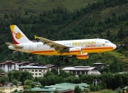 A5-BAC, Airbus A319-100, Bhutan Airlines