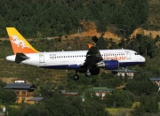 A5-RGG, Airbus A319-100, Druk Air - Royal Bhutan Airlines