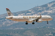 A6-AEA, Airbus A321-200, Etihad Airways