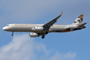 A6-AED, Airbus A321-200, Etihad Airways
