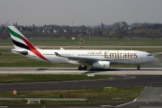A6-EAF, Airbus A330-200, Emirates