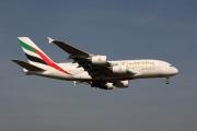 A6-EDA, Airbus A380-800, Emirates