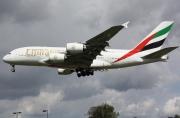 A6-EDH, Airbus A380-800, Emirates