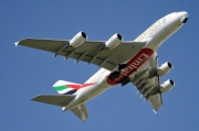 A6-EDT, Airbus A380-800, Emirates