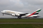 A6-EER, Airbus A380-800, Emirates