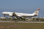 A6-EHD, Airbus A340-500, Etihad Airways