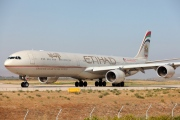 A6-EHF, Airbus A340-600, Etihad Airways