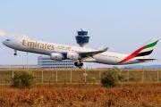 A6-ERE, Airbus A340-500, Emirates