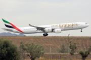 A6-ERH, Airbus A340-500, Emirates