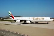 A6-ERI, Airbus A340-500, Emirates