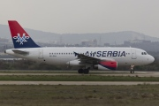 A6-SAA, Airbus A319-100, Air Serbia