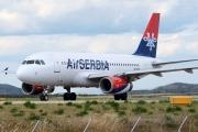 A6-SAB, Airbus A319-100, Air Serbia
