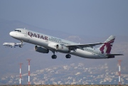 A7-ADW, Airbus A321-200, Qatar Airways