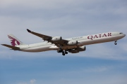 A7-AGA, Airbus A340-600, Qatar Airways