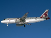 A7-AHB, Airbus A320-200, Qatar Airways