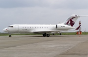 A7-CED, Bombardier Global 5000, Qatar Executive