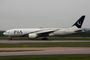 AP-BGZ, Boeing 777-200LR, Pakistan International Airlines (PIA)