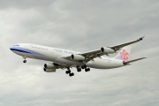 B-18803, Airbus A340-300, China Airlines