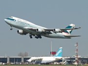B-HKT, Boeing 747-400, Cathay Pacific