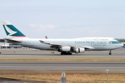B-HOU, Boeing 747-400(BCF), Cathay Pacific Cargo