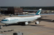 B-HOY, Boeing 747-400, Cathay Pacific