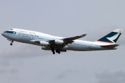 B-HUA, Boeing 747-400, Cathay Pacific