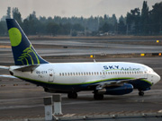 CC-CTX, Boeing 737-200Adv, Sky Airline
