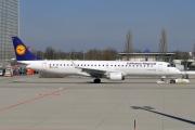 D-AEBI, Embraer ERJ 190-200LR (Embraer 195), Lufthansa Regional