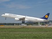 D-AEBM, Embraer ERJ 190-200LR (Embraer 195), Lufthansa CityLine