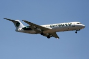 D-AGPK, Fokker F28-1000 Fellowship, Germania