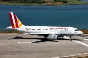 D-AGWV, Airbus A319-100, Germanwings