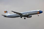 D-AIDV, Airbus A321-200, Lufthansa