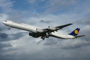D-AIHM, Airbus A340-600, Lufthansa