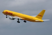D-ALED, Boeing 757-200SF, European Air Transport (DHL)