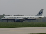 D-ANNB, Airbus A320-200, Blue Wings