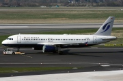 D-ANND, Airbus A320-200, Blue Wings