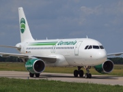 D-ASTB, Airbus A319-100, Germania