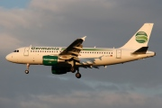D-ASTC, Airbus A319-100, Germania