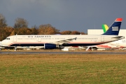D-AZAF, Airbus A321-200, US Airways