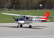 D-ECEW, Cessna (Reims) F150K, Rent a Star