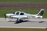 D-ETMG, Cirrus SR22-GTS, Private