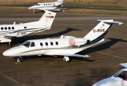 D-IRKE, Cessna 525 CitationJet CJ1, Private