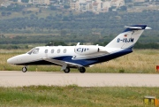 D-ISJM, Cessna 525 CitationJet CJ1, Private