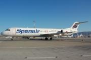EC-JDN, Fokker F100, Spanair