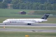 EC-KCZ, McDonnell Douglas MD-87, Spanair